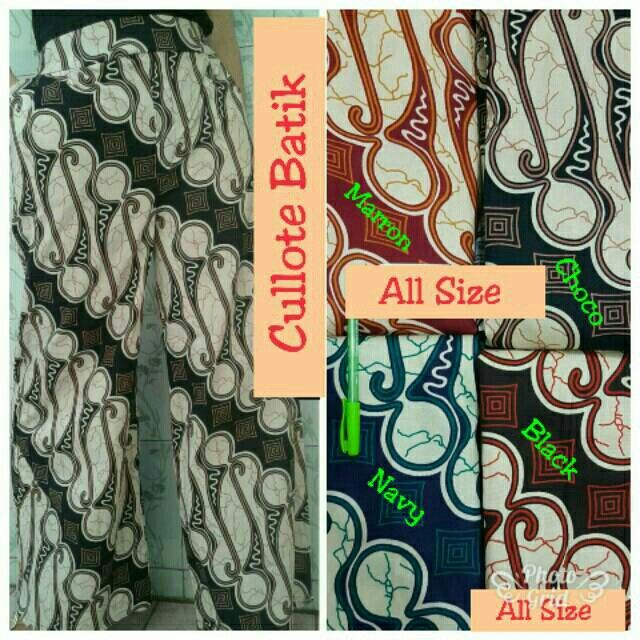 Saya menjual Cullote Batik Clok seharga Rp60.000. Dapatkan produk ini hanya di Shopee! https://shopee.co.id/hamzahnisa21/686843292 #ShopeeID