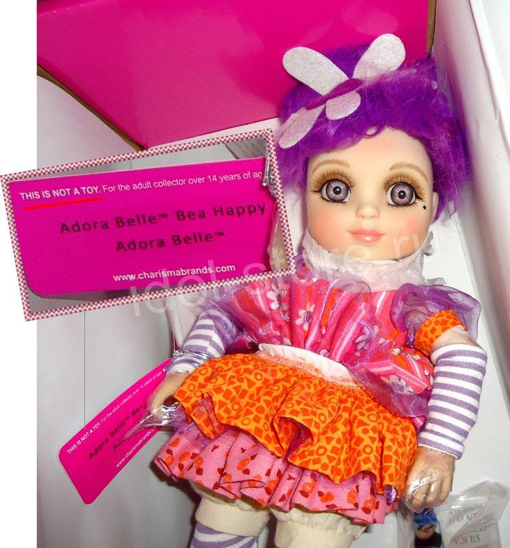 Adora Belle - Bea Happy - BJD Vinyl Doll by Marie Osmond. Адора Бель - Беа Хеппи - БЖД - кукла виниловая коллекционная от Мари * Мэри Осмонд