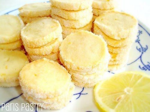 Parisian Lemon Butter cookies