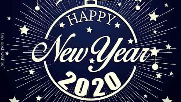 New Year Quotes 2020 Images Happy New Year 2020 Wishes Quotes Messages [ Best Images ] | Happy