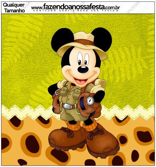 Safari ve Mickey Mouse temasını bir arada kullanmak isteyenler için çok hoş bir tema buldum ve bugün sizlerle bu şirin temayı paylaşmak ist...