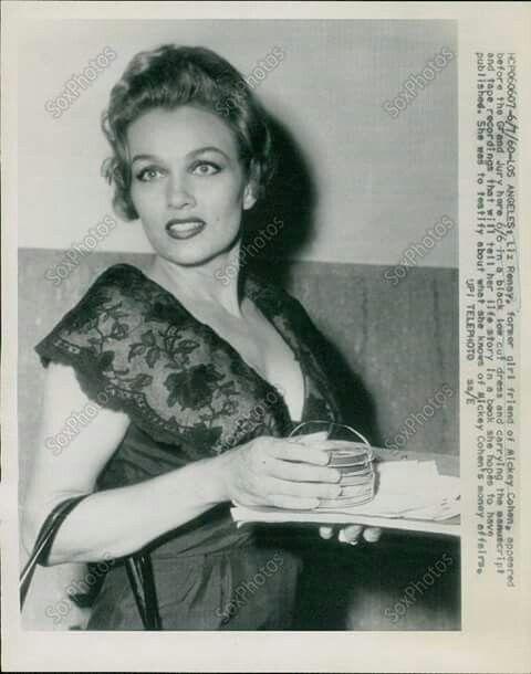 Liz Renay, girlfriend of Mickey Cohen