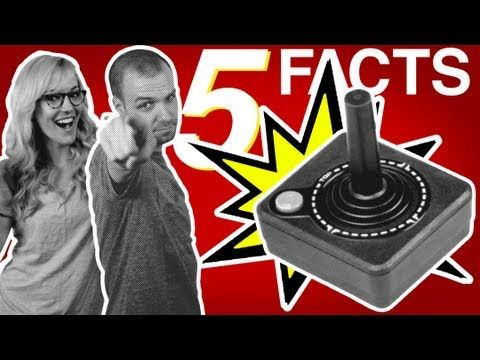 ▶ #5facts You Didn't Know About Video Games (w/ Peter Gallagher!) - YouTube