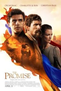 The Promise -  Set during the last days of the Ottoman Empire The Promise follows a love triangle between Michael a brilliant medical student the beautiful and sophisticated Ana and Chris - a renowned American journalist based in Paris.  Genre: Drama History Actors: Charlotte Le Bon Christian Bale Daniel Giménez Cacho Oscar Isaac Year: 2016 Runtime: 133 min IMDB Rating: 6.0 Director: Terry George  Watch The Promise - source: InsideHollywoodFilms