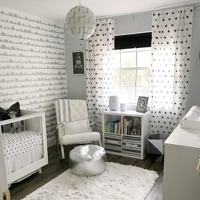 17 best images about black and white nursery on pinterest monochrome nursery accent walls and. Black Bedroom Furniture Sets. Home Design Ideas