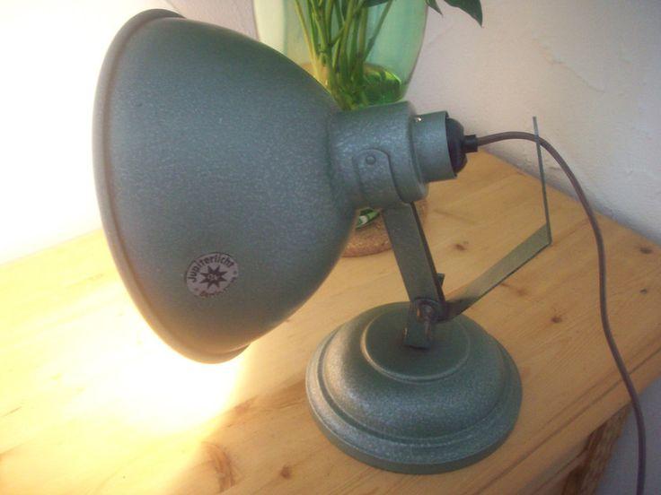 Vintage Tischlampen - alte Jupiter-Leuchte ,Retro Loft-Stil, Fotolampe - ein…