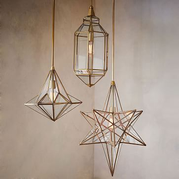 Moroccan Glass Pendants #westelm