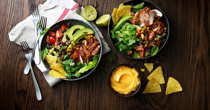 Taco style chicken salad | A recipe from Santa Maria