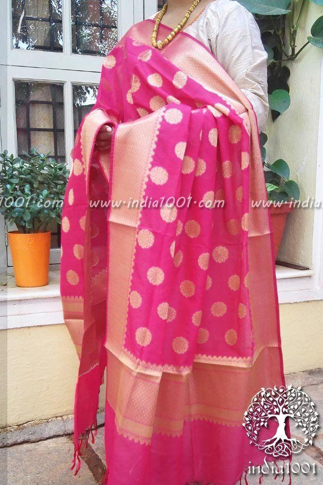 Gorgeous Woven Banarasi Art Silk Dupatta