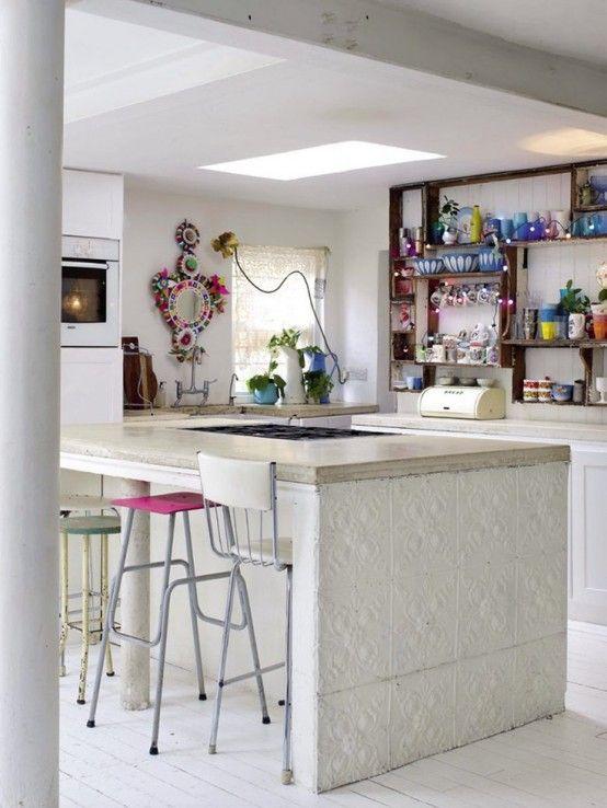 boho tarzi mutfak tasarimlari dekorasyon ve bohem stil uygulamalari (16)