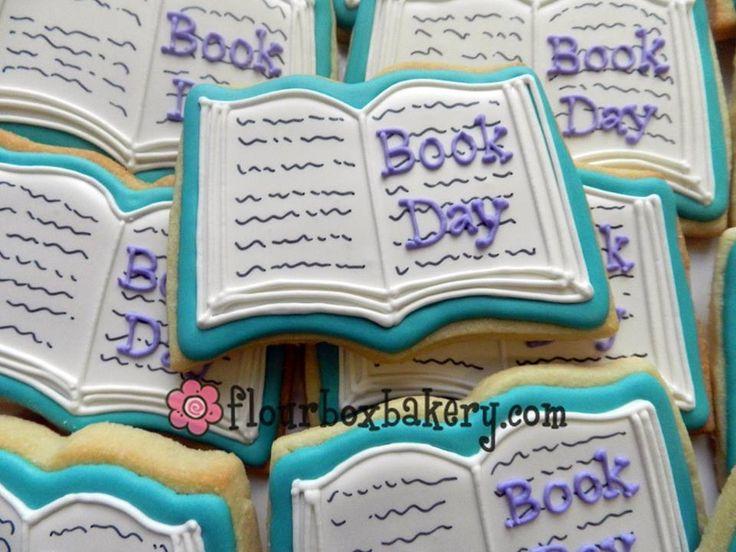 Open book cookie idea