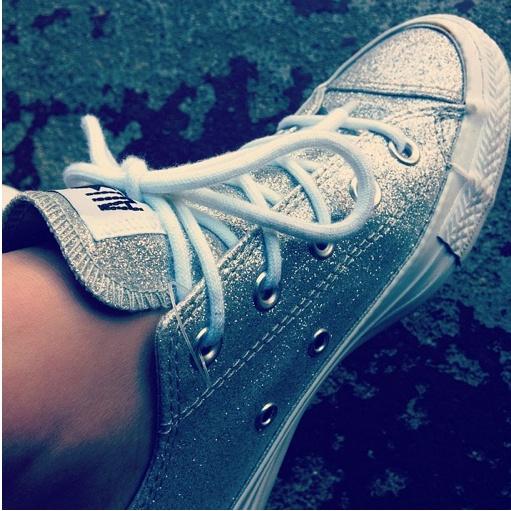 #Glitter #Converse