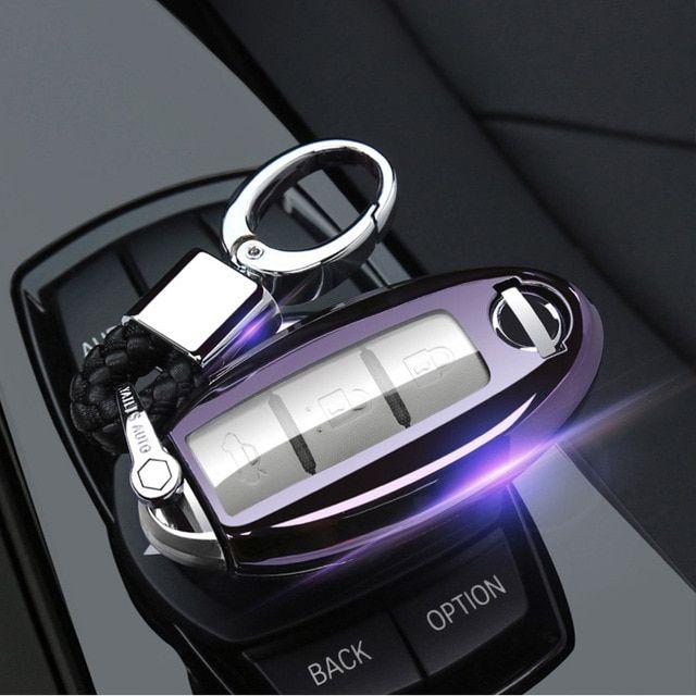 2022 Nissan Pathfinder Key, Car Key Cover Case Fob For Nissan Qashqai J10 J11 X Trail T31 T32 Kicks Tiida Pathfinder Murano Note Juke Infiniti A Key Covers Car Buying Interior Accessories