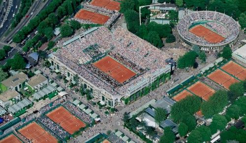 French Open 1991 Seles , Courier 1996. Kafenikov, Graf.  Part of my journey.