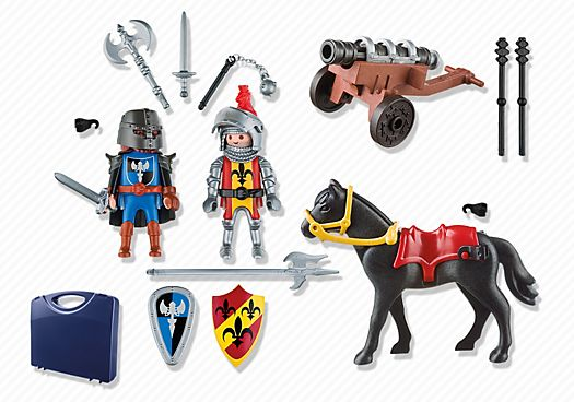 Carrying Case Knights - PM USA PLAYMOBIL® USA