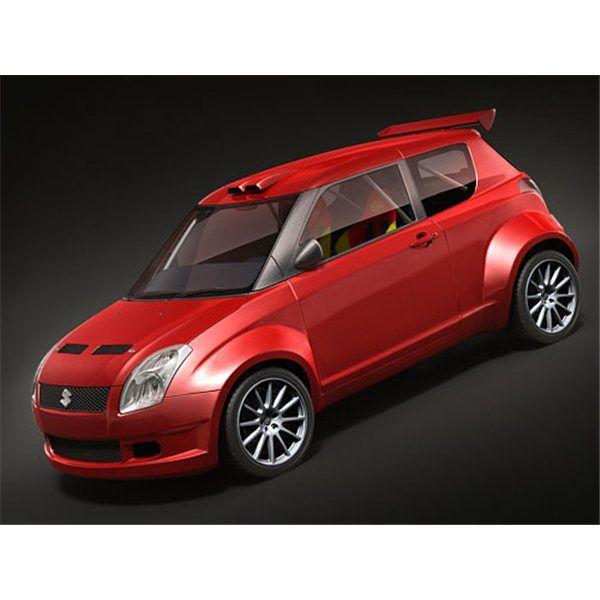 Suzuki Swift 1600 Rally - 3D Model