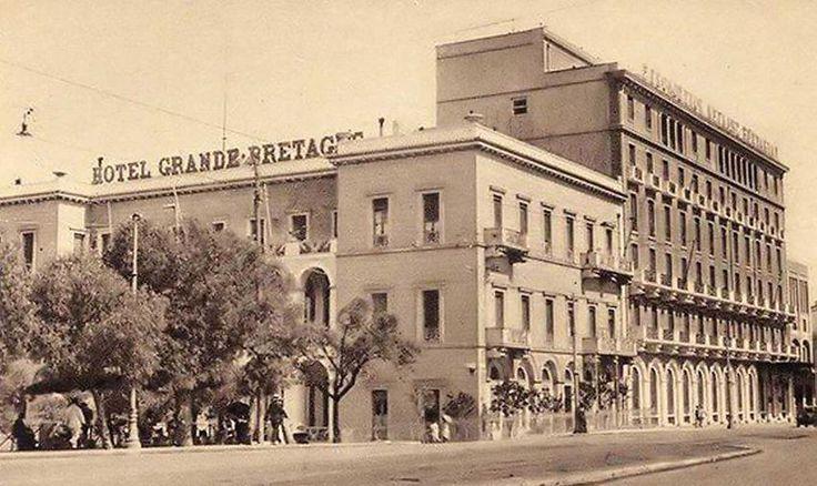ΤΟ ΞΕΝΟΔΟΧΕΙΟ «Μεγάλη Βρετανία» δεσπόζει στην καρδιά της Αθήνας και σε χιλιάδες απεικονίσεις της πόλης από τα μέσα του 19ου αιώνα. Ηταν το 1842, όταν κτίστηκε αρχικά ώς έπαυλη και οικία του Αντώνη Δημ