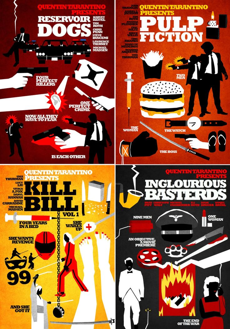 Quentin Tarantino Film Collection