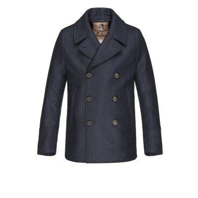 Amalfi Peacoat - Raincoat for men #sealupcollection. Shop it!