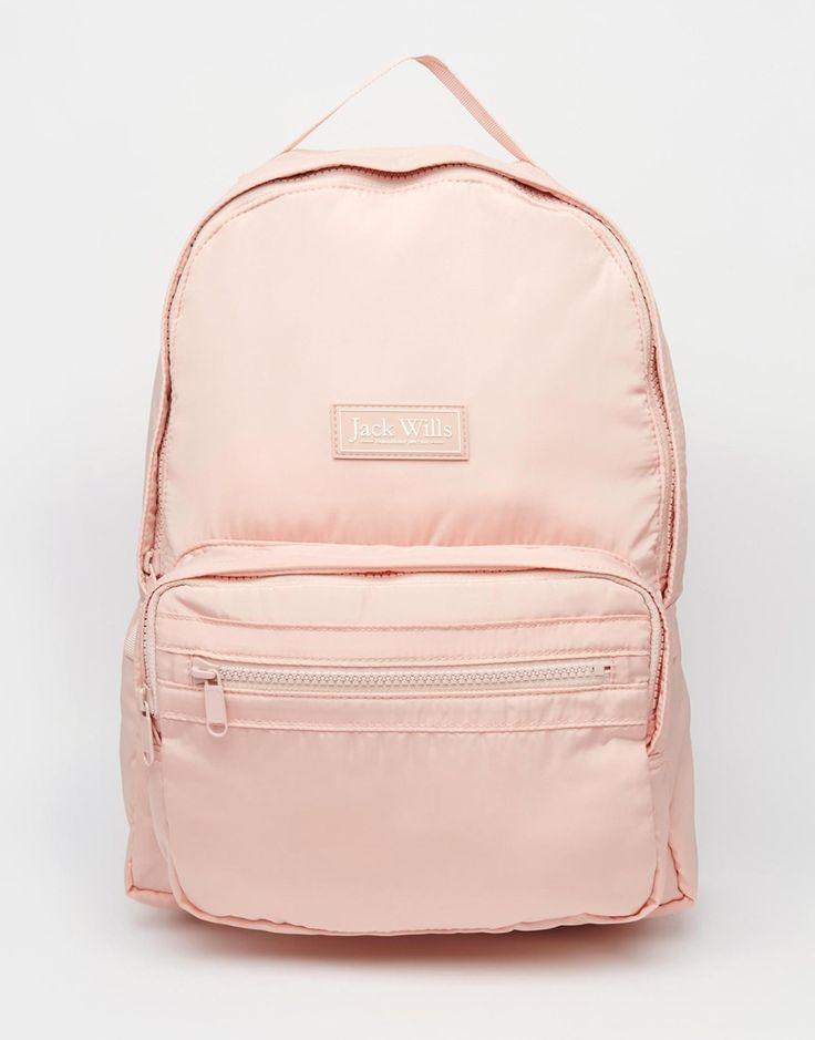 Image 1 ofJack Wills Classic Nylon Backpack