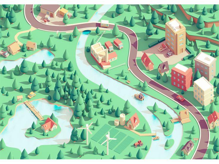 Small town by Guillaume Kurkdjian