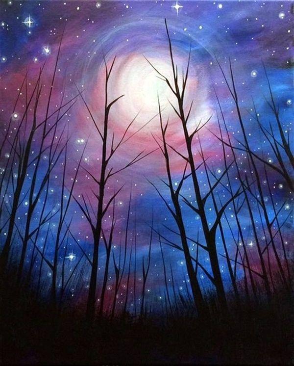 Northern Lights Painting Tutorial