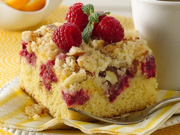 Raspberry Crumb Cake Recipe from Betty Crocker