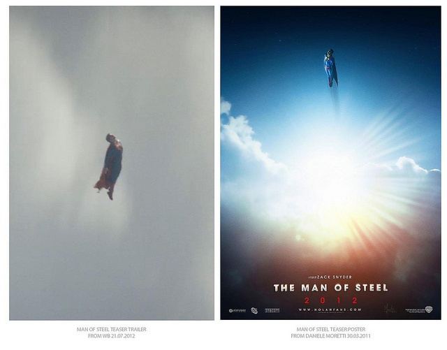 Ok! It's official... I'm paranoic! But the stylistic choices are many and too similar. Watch the trailer on trailers.apple.com/trailers/wb/manofsteel/
