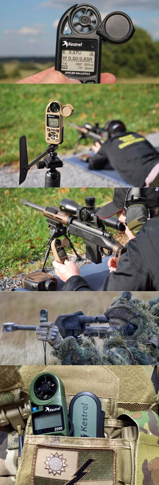 Kestrel Elite Weather Meter with Applied Ballistics - Long Range Shooting Accessory @aegisgears