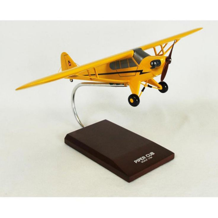Daron Worldwide Piper J3 Cub Model Airplane - KPJ3TS
