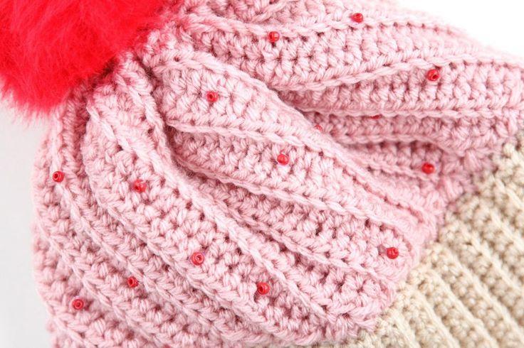 » DIY Crochet Cupcake Hat