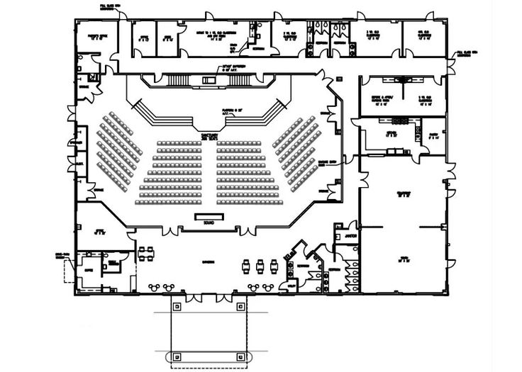 53 best church design floor plan images on pinterest for Floor plan church