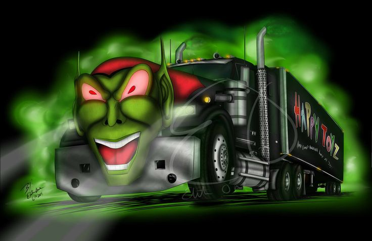 Cars Movie Soundtrack: Maximum Overdrive Goblin Truck By Lady-Elita-1 On