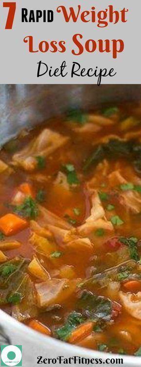 7 Rapid Weight Loss Soup Diet Rezept, das funktioniert – #das #Diet #funktioniert #Loss #rap