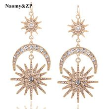 Latest arriving Naomy&ZP Brand Crystal Moon Drop Earrings For Women Big Large Rhinestone Wedding Bohemia Ethnic Gypsy Punk Fashion Earrings now available for sale US $9.99 with free shipping  you will find this product as well as more at our favorite site      Grab it today the following >> http://bohogipsy.store/products/naomyzp-brand-crystal-moon-drop-earrings-for-women-big-large-rhinestone-wedding-bohemia-ethnic-gypsy-punk-fashion-earrings/,  #BohoGipsyStore