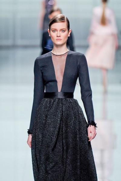 Christian Dior at Paris Fall 2012