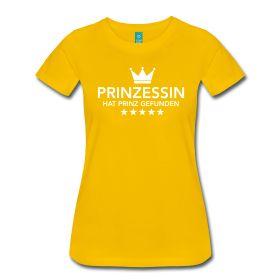 Prinzessing hat Prinz gefunden. Das Perfekte Braut JGA T-Shirt für deinen Junggesellinnenabschied.  #teambraut #braut #jga