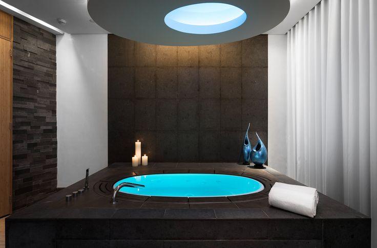 sorgente bathtub at the sofitel downtown dubai spa