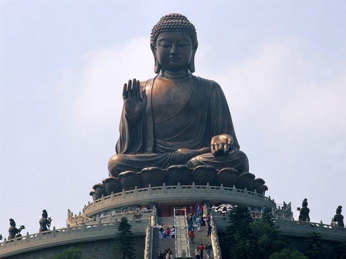 Hong Kong attractions - Big Buddha