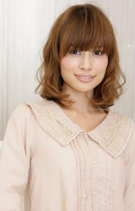 hellbraun Haarfarben für asiatische Frauen