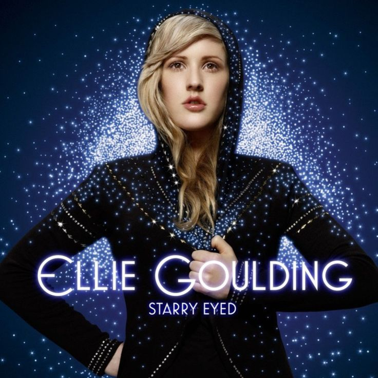 Caratula Frontal de Ellie Goulding - Starry Eyed (Cd Single)