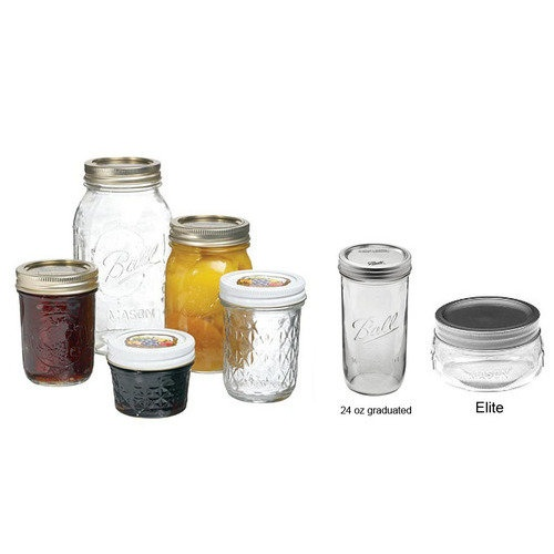 Canning Jars - Ball & Kerr Glass Jars as low as $.61 each when purchased in bulk