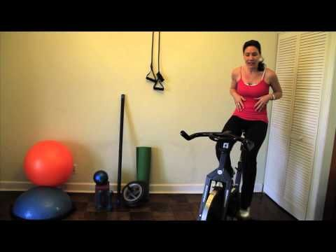 How to Burn Fat Diet and Spin Bike Workout from Empower Your Body