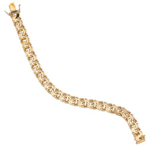 Damen-Armband massiv 14 Karat (585) Gelbgold 19 cm Dreambase http://www.amazon.de/dp/B0097PF7BG/?m=A37R2BYHN7XPNV