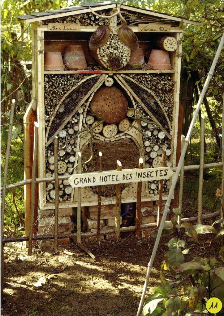 261 best insect hotels images on pinterest bug hotel. Black Bedroom Furniture Sets. Home Design Ideas