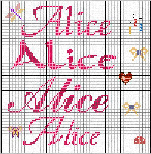 As 697 melhores imagens em alfabeti no pinterest ponto for Alfabeti a punto croce schemi gratuiti