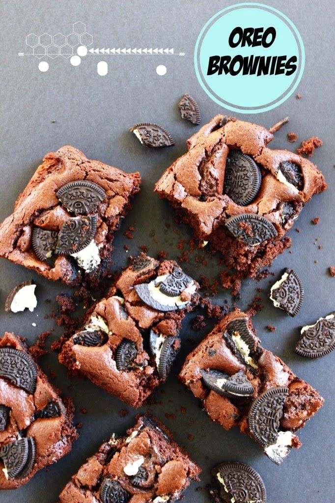 Brownies Oreo: ricetta golosa | Anna On The Clouds