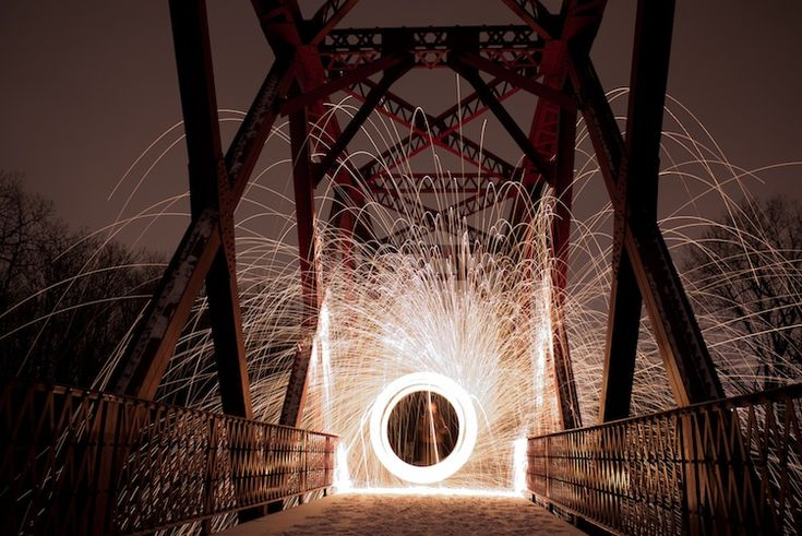 steel wool photography by steven shubert