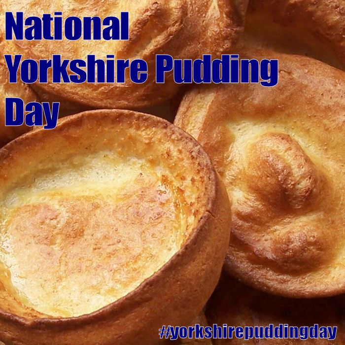 Yorkshire Pudding Day - October 13, 2016 | Yorkshire ...