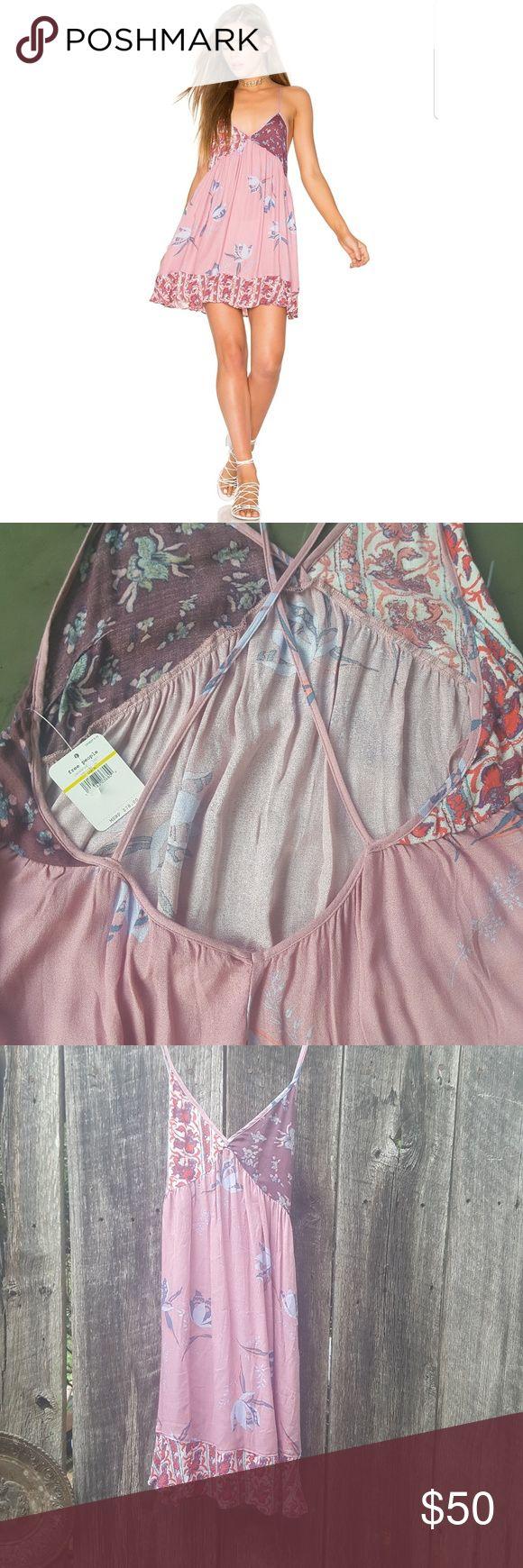 Free People NWT GOREGOUS neutrals slip dress Beautiful NWT festival perfect!!! Free People Dresses